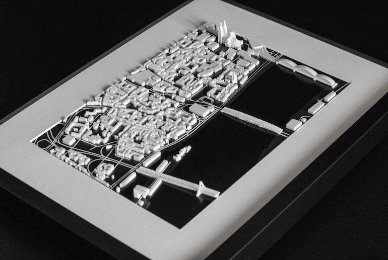 Vertical City Köln - Seitenansicht