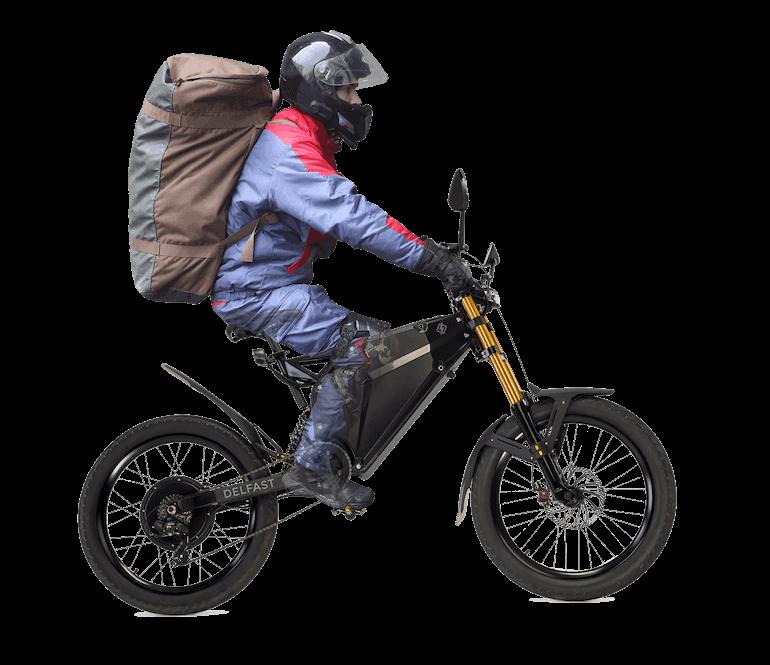 Delfast E-Bike Größenvergleich