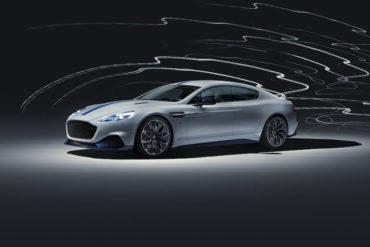 Rapide E Elektroauto von Aston Martin