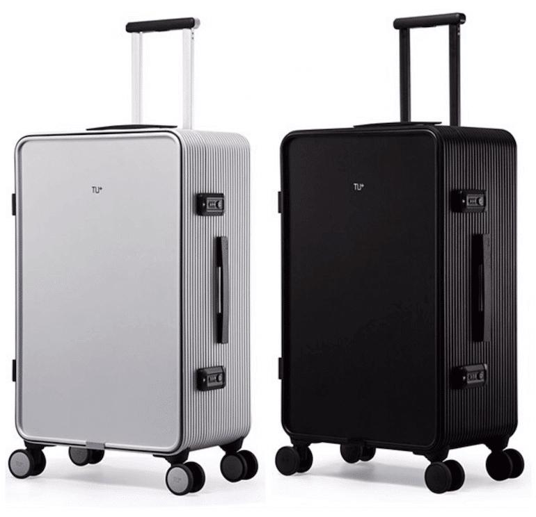 TUPLUS X2 Koffer in Schwarz und Silber