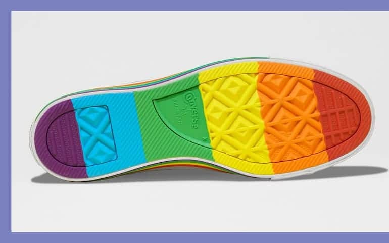 Converse Pride Chucks Sohle