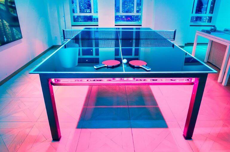 G4 Glas Billiardtisch - Tischtennis Auflage
