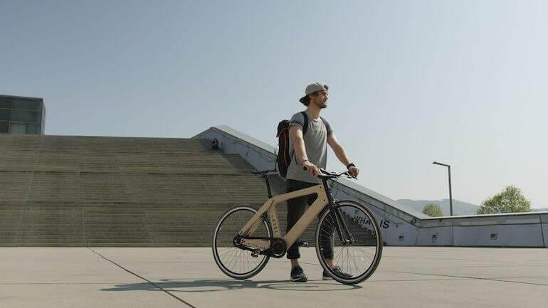 My Esel Urban - nachhaltige Holz E-Bikes