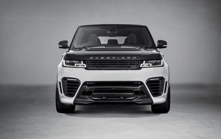 Overfinch SuperSport Range Rover Front