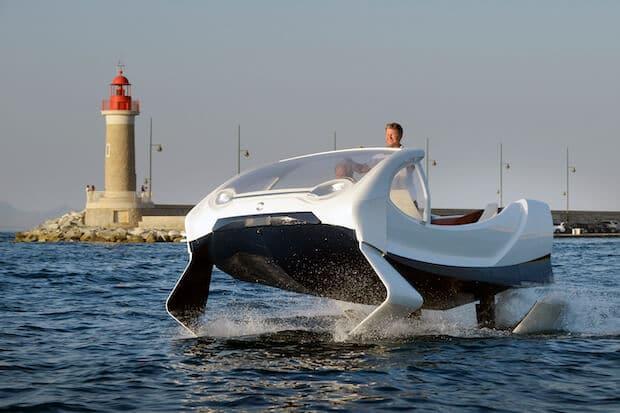 SeaBubbles in St. Tropez