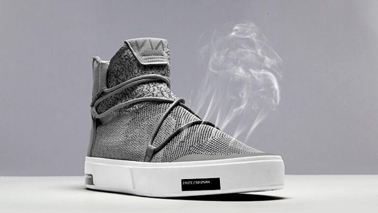 VIA Schuh aus Ozeanplastik
