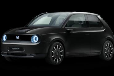 Elektroauto Honda-e in Schwarz
