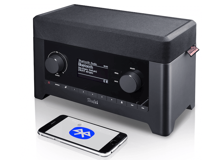 Teufel 3sixty Radio mit Bluetooth