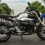 BMW R nineT in Paris