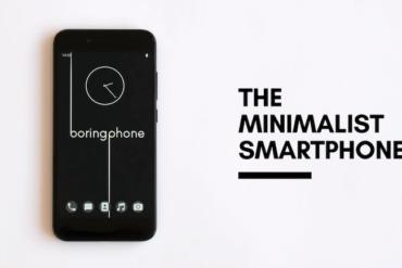 BoringPhone - minimalistische Smartphone