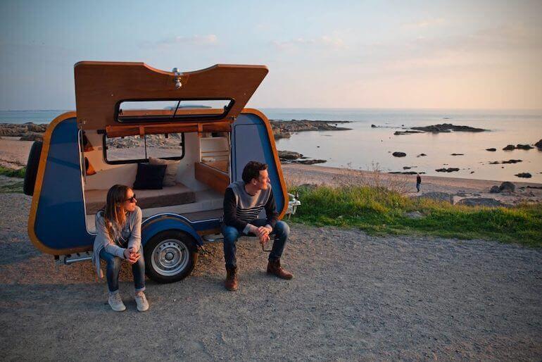 Teardrop-Camper Carapate  Wohnmobil