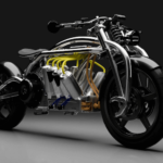 Zeus Radial V8 Elektromotorrad