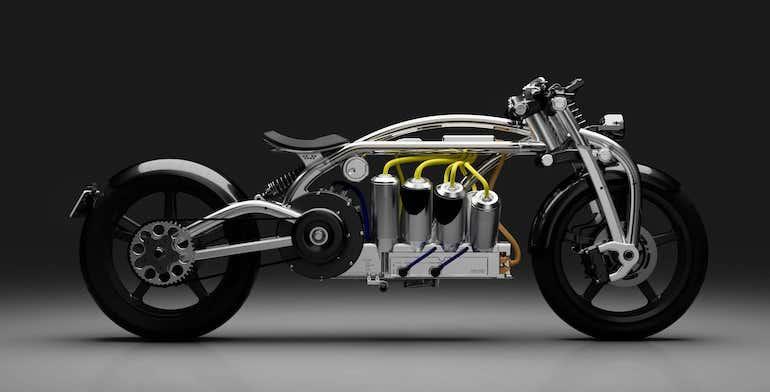 Zeus E-Motorrad Radial V8
