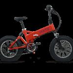 MATE X E-Bike in Rot