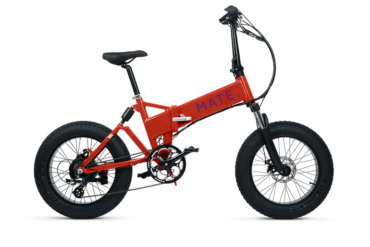 MATE X E-Bike in Rot