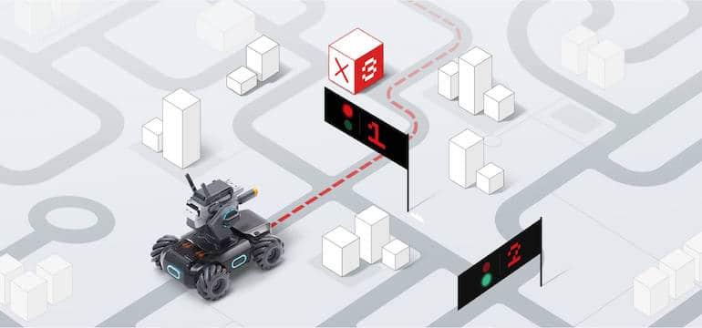 Kampfroboter -   automatisiertes fahren