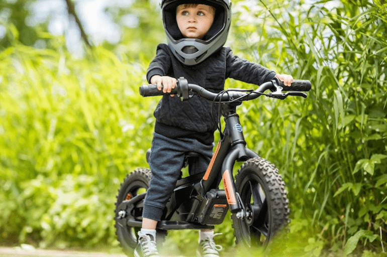 Elektrisches Laufrad für Kinder von Harley Davidson