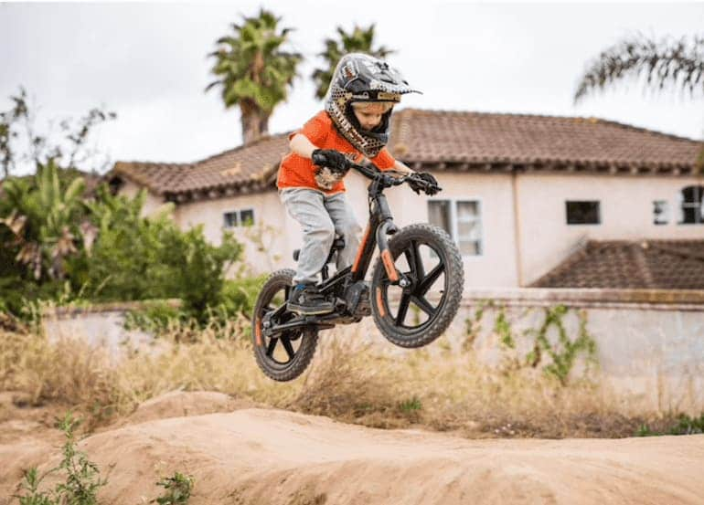 Electric Balance Bike von Harley Davidson