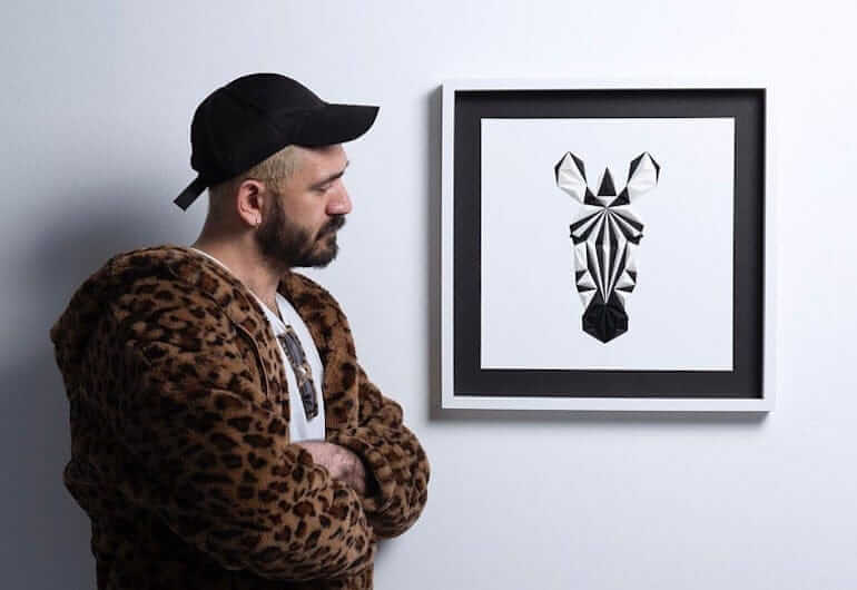 Paperpan 3D Paper Art von Tayfun Tinmaz