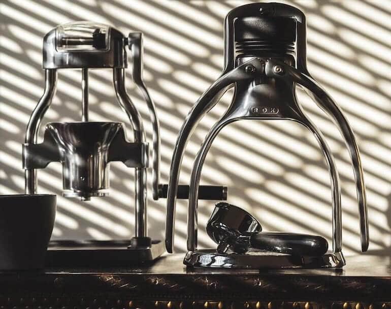 Mechanische Espresso Maschine ROK