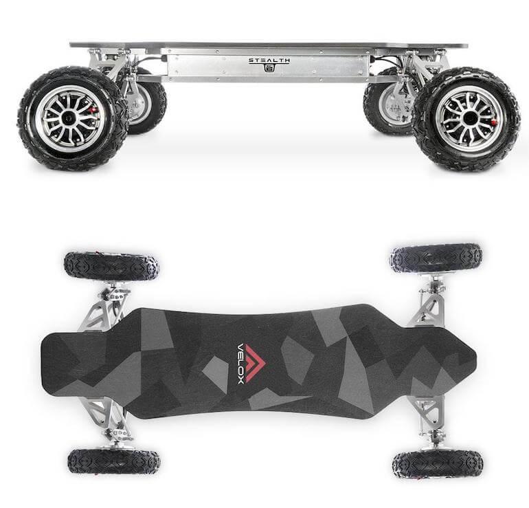 XC-6 Offroad-Skateboard von Veloxboards