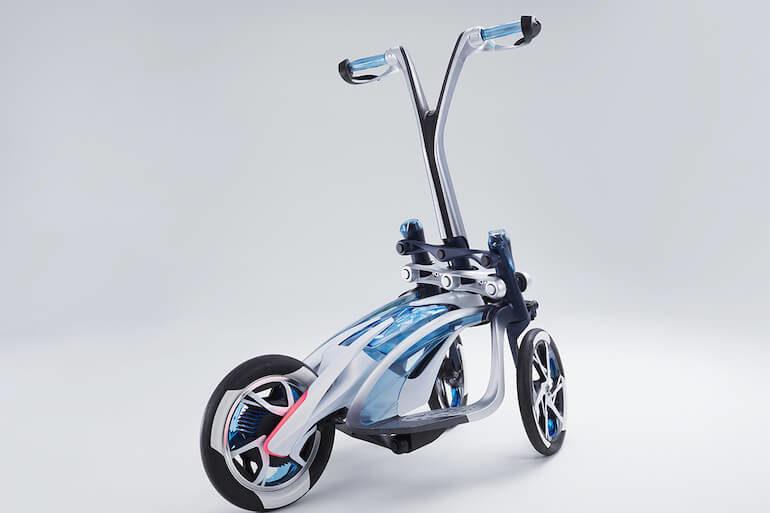 Tritown - ein Elektro Dreirad von Yamaha