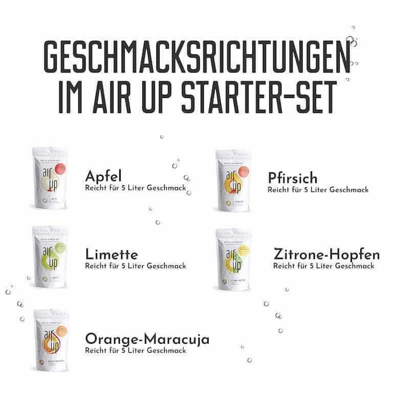 Air Up Geschmacksrichtungen - Duft Pods