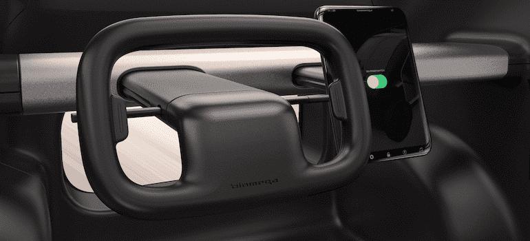 Biomega EV Elektro-CUV Cockpit