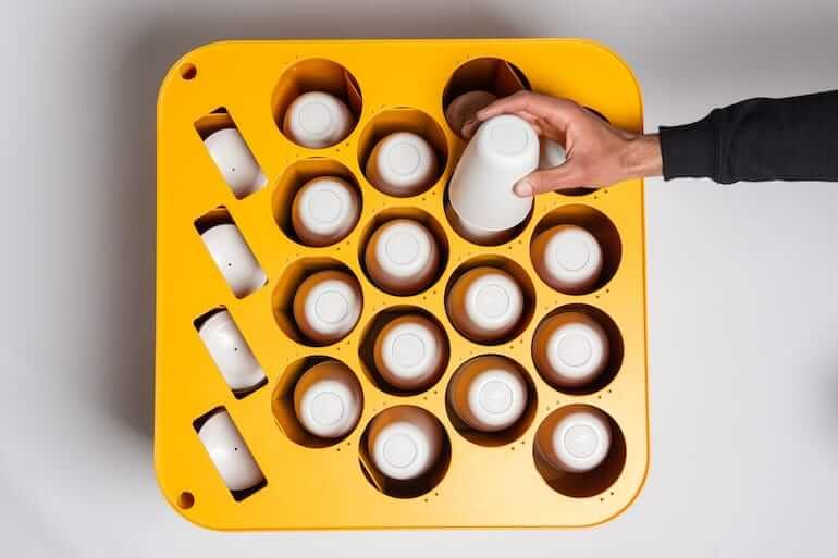 CupClub Kaffeebecher Aufsteller