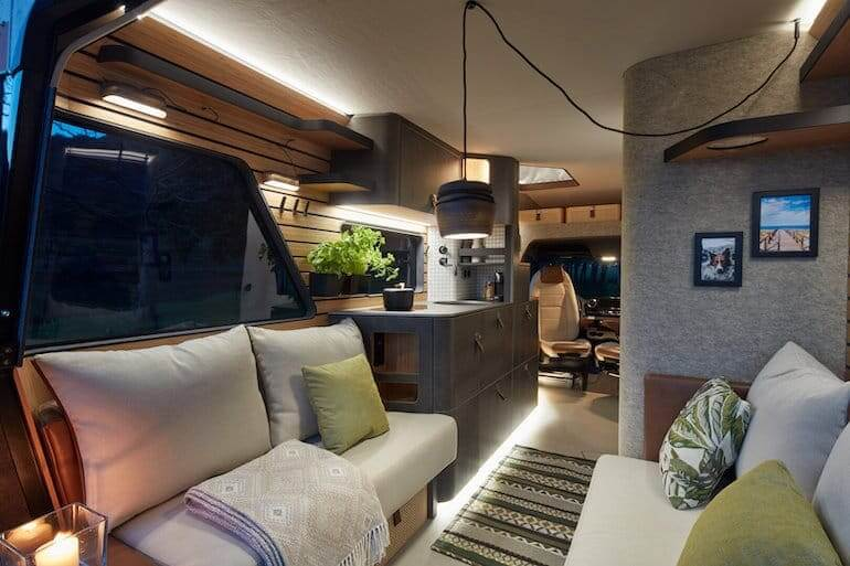 Hymer Vision Venture Lounge