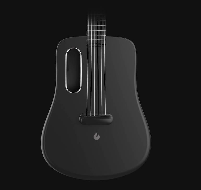 Lava Me Gitarre Detailansicht