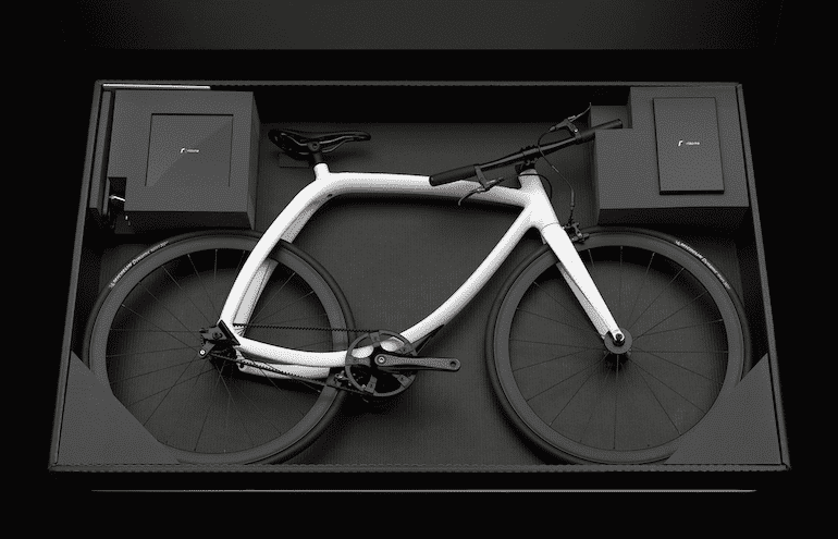 Lieferbox des Rizoma Bikes