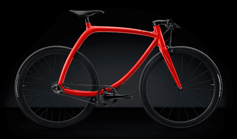 Rizoma Bike Modell RS77 in rot