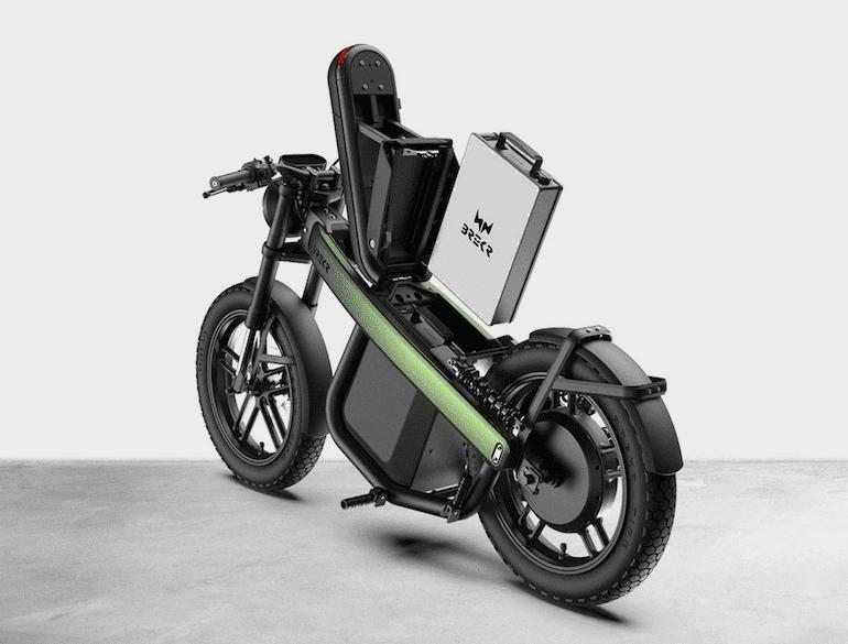 Model B Moped Akku von Brekr