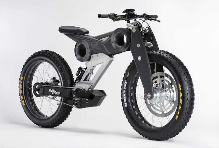 Moto Parilla E-Bike - Carbon Nero