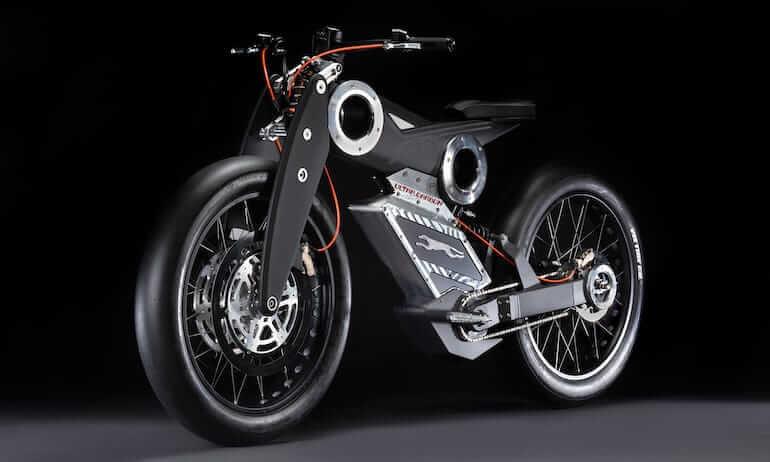 Moto Parilla E-Bike - Carbon Edition