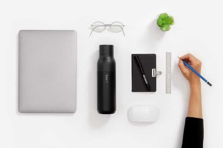 The LARQ Bottle - Selbstreinigende Wasserflasche
