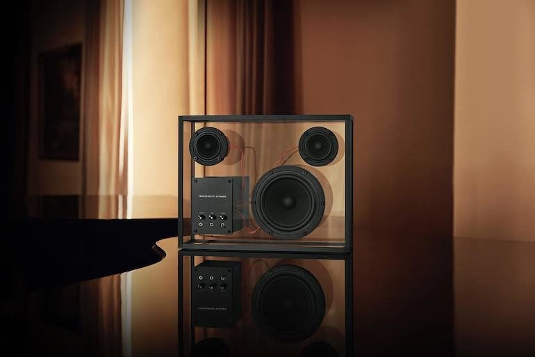 Transparent Speaker - Aktiv Lautsprecher