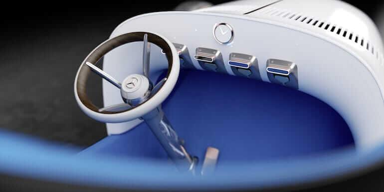Vision Mercedes Simplex Cockpit