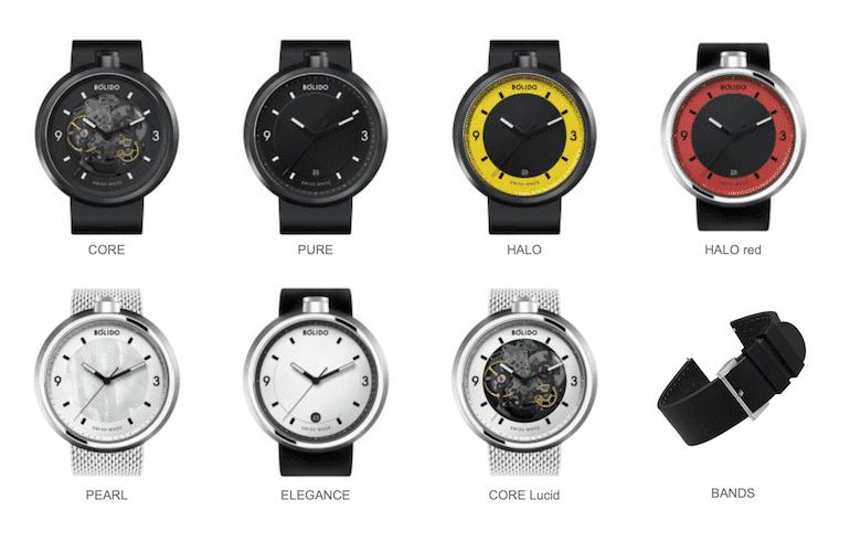 Bólido Uhren Modelle