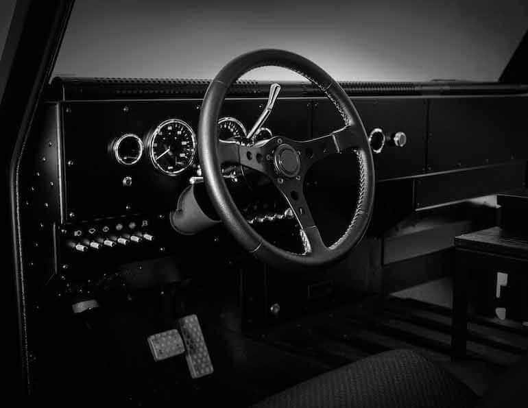 Bollinger B1 Cockpit
