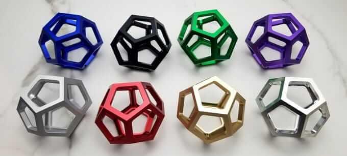 da Vinci´s Dodecahedron Farben