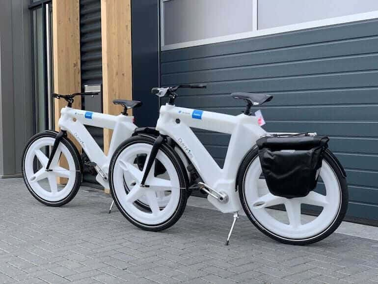 Dutchfiets Bike in Weiss
