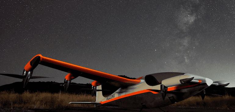 Heaviside E-Flugzeug Details