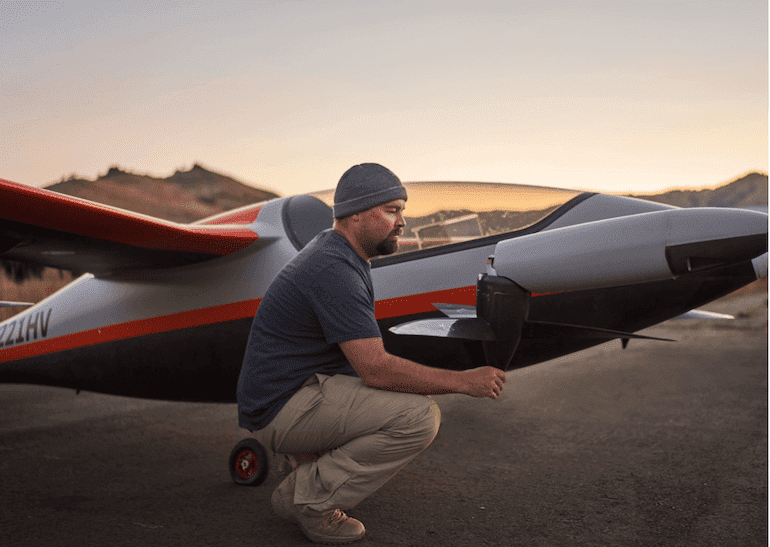Heaviside Elektroflugzeug