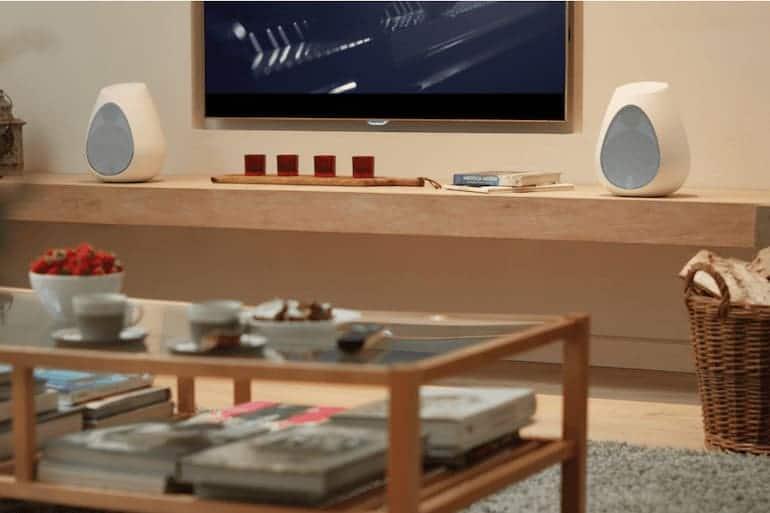 Series 3 Lautsprecher Wohnzimmer