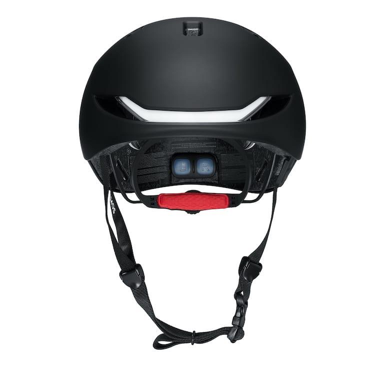 Lumos Matrix Helm - Rückansicht