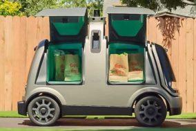 Selbstfahrende Robo-VanR1 Transporter von Nuro