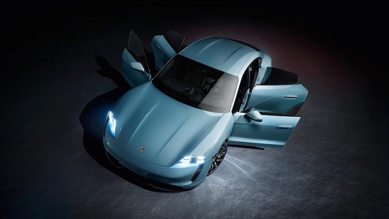 Porsche Taycan 4S Frontansicht