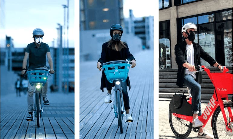 Nano Light®: Die umweltfreundliche Maske